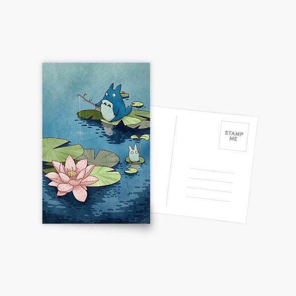 Chibitotoro lotus Postcard