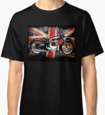 Vintage Classic British BSA Motorcycle Icon Classic T-Shirt