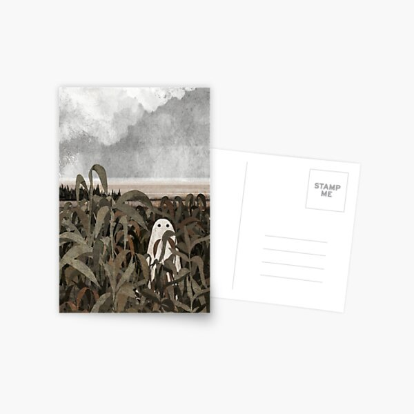 There's a Ghost in the cornfield again... Postcard