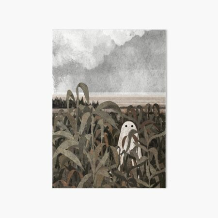 There's a Ghost in the cornfield again... Art Board Print
