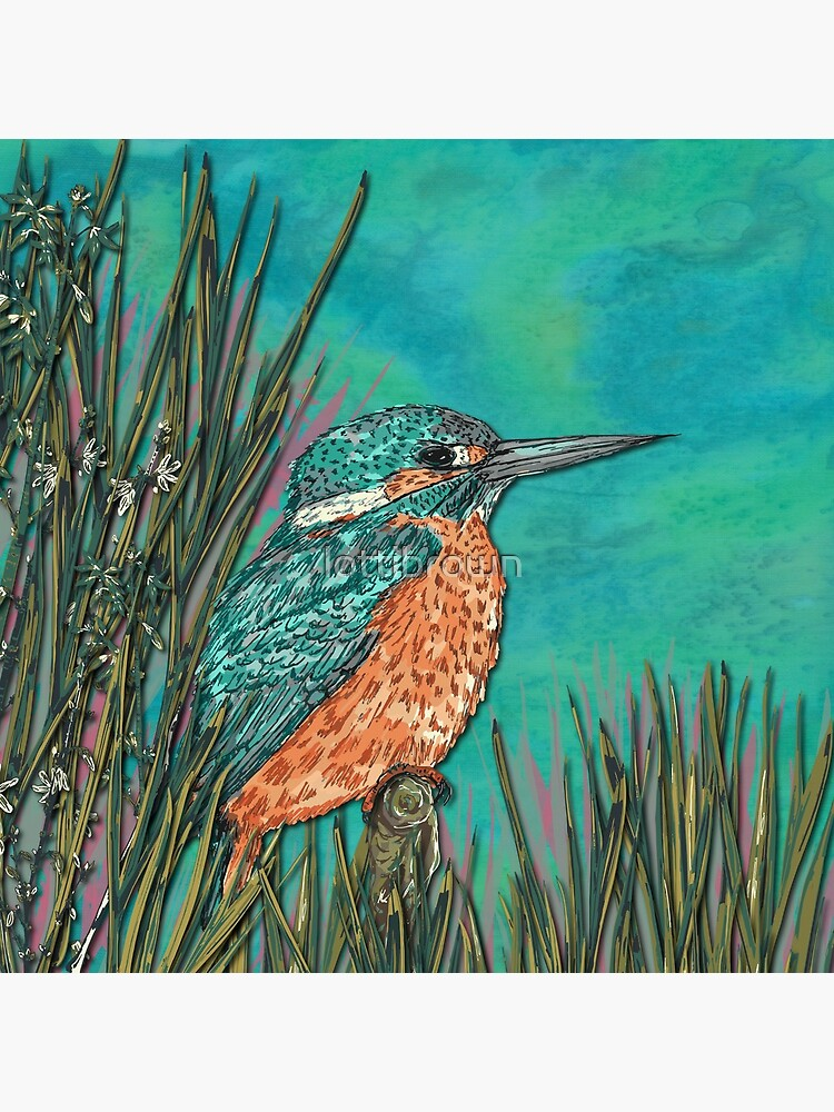 Kingfisher by lottibrown