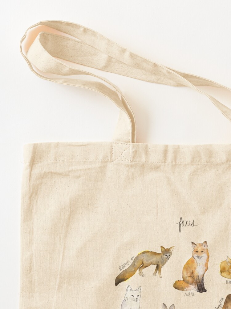 Alternate view of Foxes Tote Bag