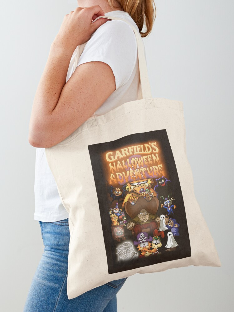Garfield S Halloween Adventure 1985 Tote Bag By 4gottenlore Redbubble