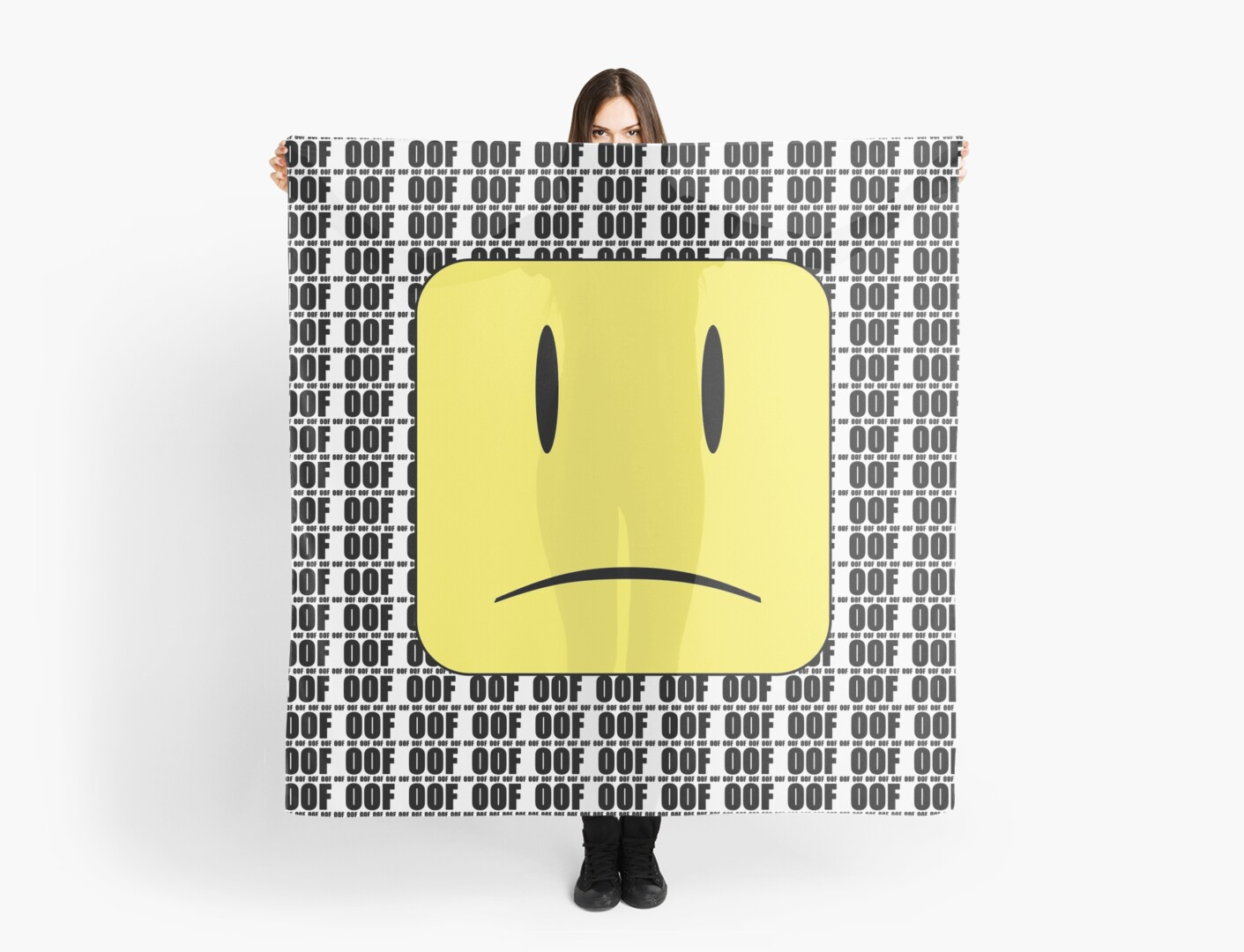 Oof X Infinity Scarf By Jenr8d Designs Redbubble