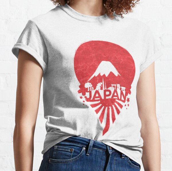Sunrise in Japan Classic T-Shirt