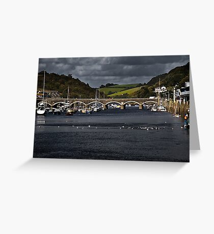 Looe Bridge Greeting Card
