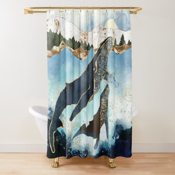 Bond V Shower Curtain