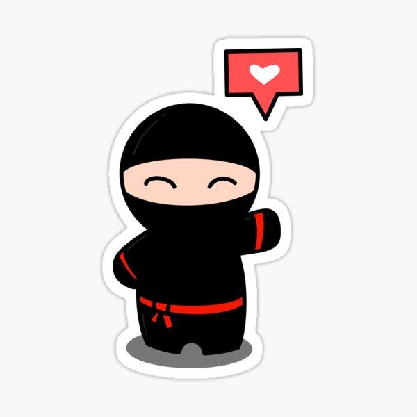 Like A Ninja Sticker