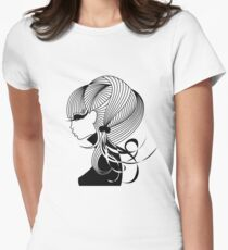 Britt1 Womens Fitted T-Shirt