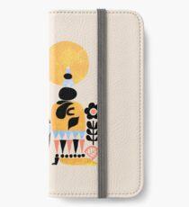 Scandinavian Pug Yoga iPhone Wallet/Case/Skin