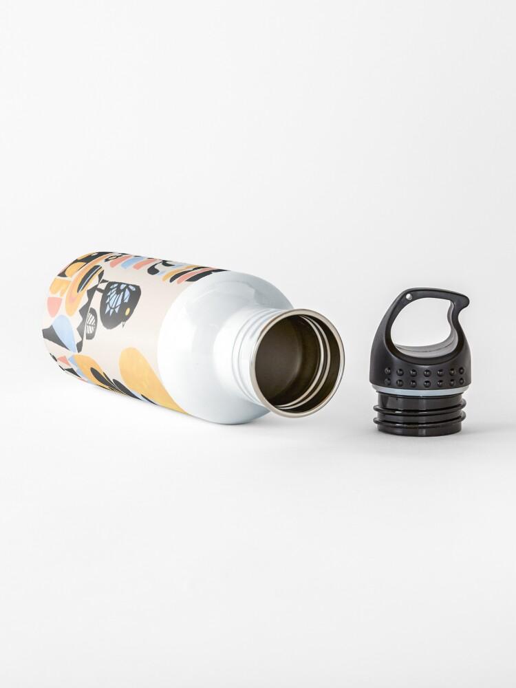 Alternate view of Scandinavian Pug Yoga Water Bottle