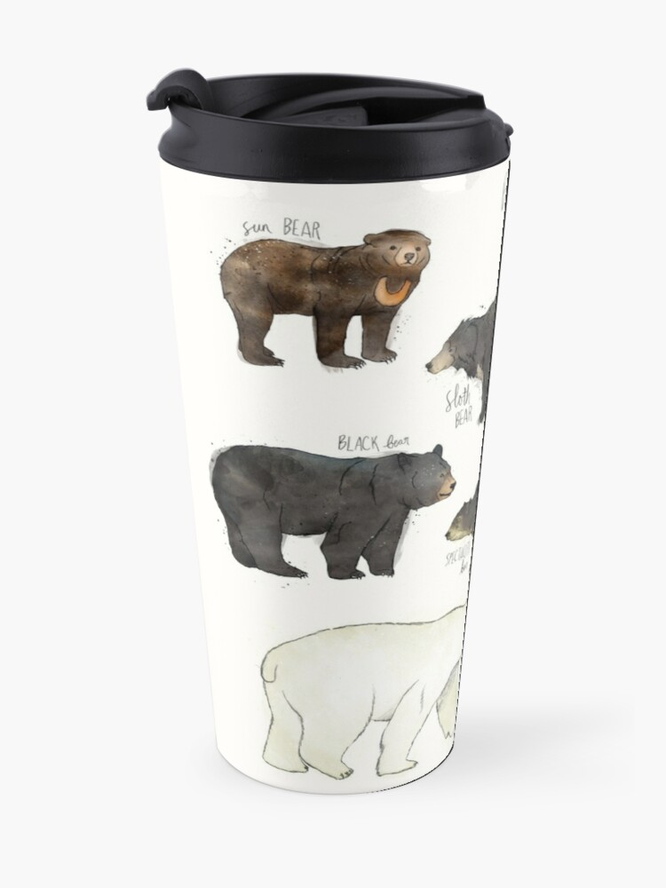 Alternate view of Bears Travel Mug
