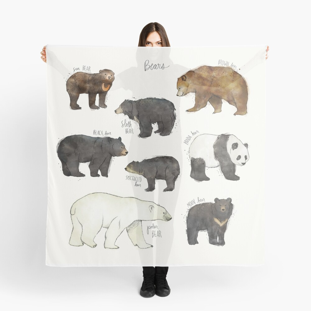 Bären Tuch
