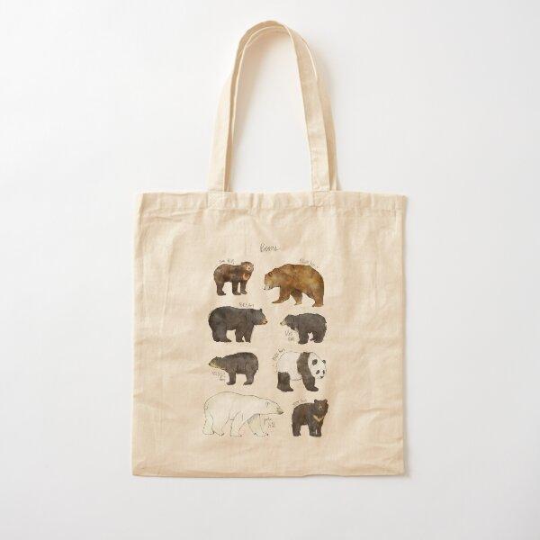 Bears Cotton Tote Bag