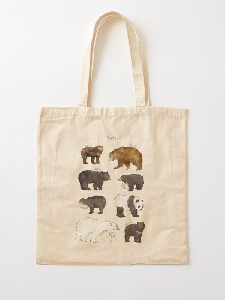 Alternate view of Bears Tote Bag