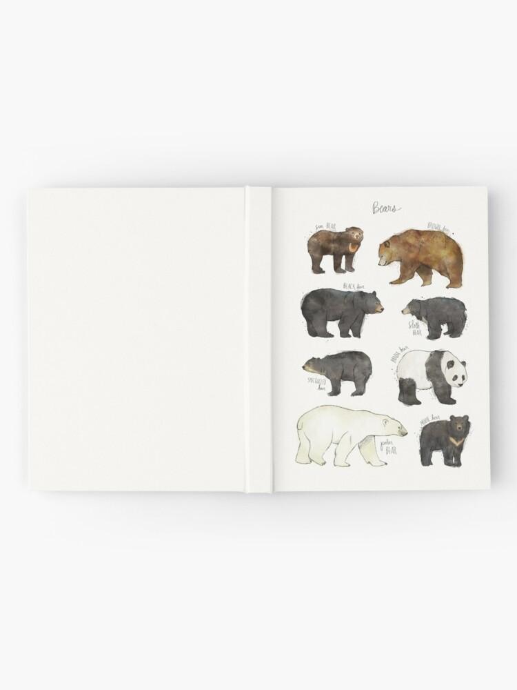 Alternative Ansicht von Bären Notizbuch