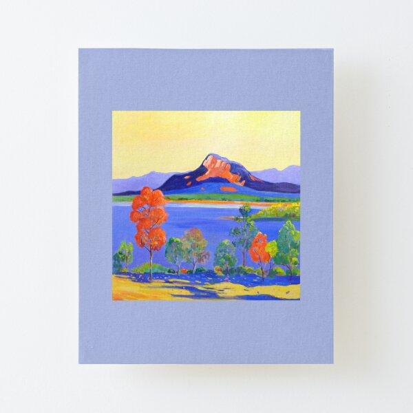 Moogerah Dam [Lake]  Canvas Mounted Print