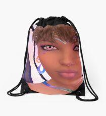 Selfie Fairy Drawstring Bag