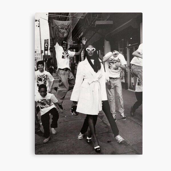 Naomi Campbell : Paparazzi Metal Print