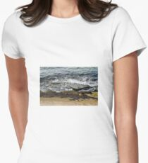 Sea Women's Fitted T-Shirt