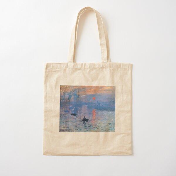 CLAUDE MONET, Impression, Sunrise. Cotton Tote Bag
