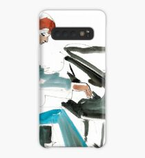 Pianist Musician Expressive Drawing Case/Skin for Samsung Galaxy