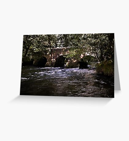 Pillaton Bridge Greeting Card