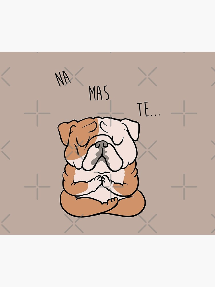 NAMASTE English Bulldog by Huebucket
