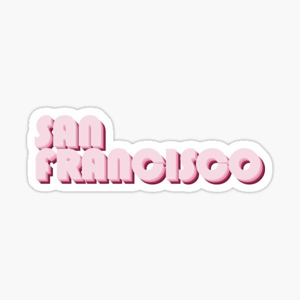 Rosarotes San Francisco Sticker
