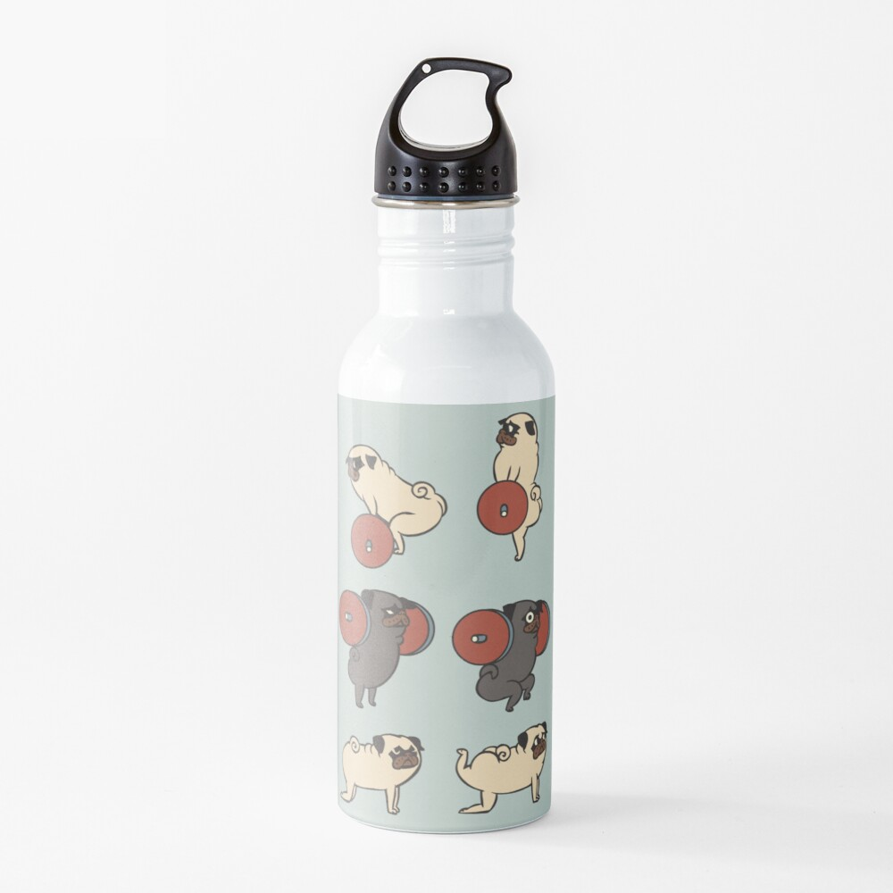 Butt Lift with The Pug Water Bottle