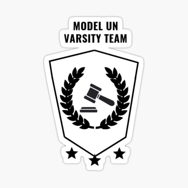 Model UN Varsity Team Sticker
