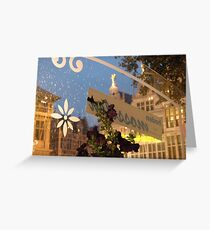 Antwerp gastronomy Greeting Card