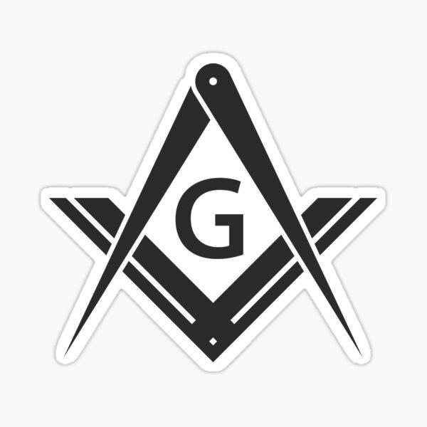 Freemason Stealth Square & Compass Masonic Sticker