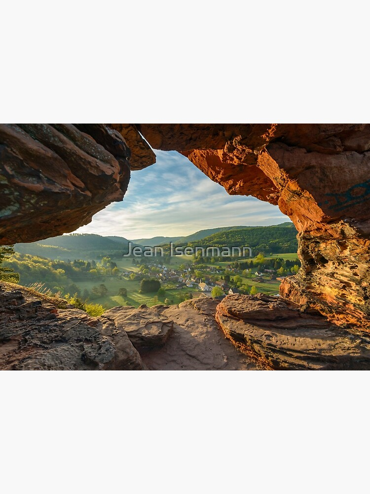 «Obersteinbach vue à traver l'arche du Wachtfels» par Isenmann