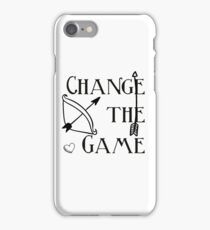 Change the game, the Hunger Games iPhone Case/Skin