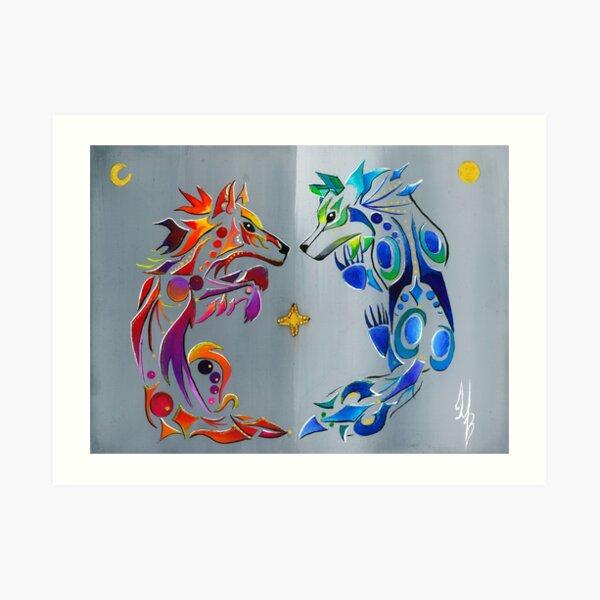 Wapimisow- Reflection  Art Print
