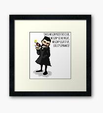 Nietzsche Framed Print