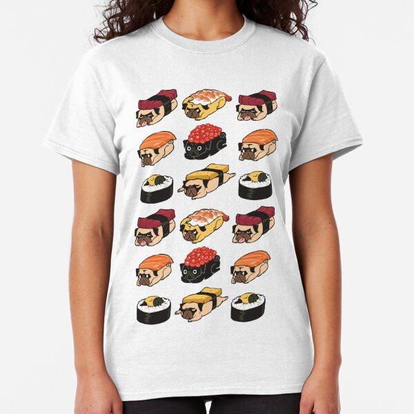 Sushi Pug Classic T-Shirt