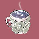 PURPLE 'Koala Tea' by Stringer Things (Hannah Stringer) by stringerthings