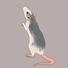 Curious Roan Rat by KelseyBass