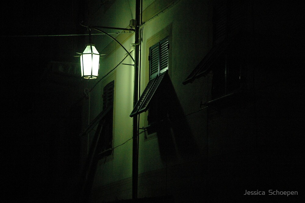 Assisi di notte by Jessica  Schoepen