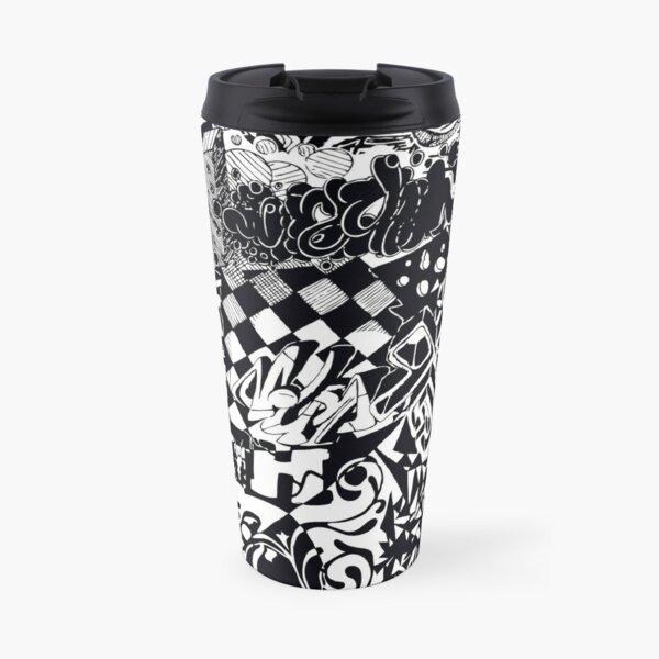 Graffiti, Street Art T-Shirt Travel Mug