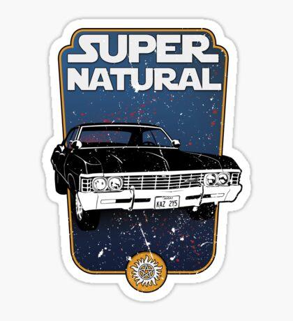 SuperStarNatural Sticker