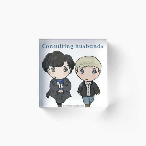Consulting husbands Acrylic Block
