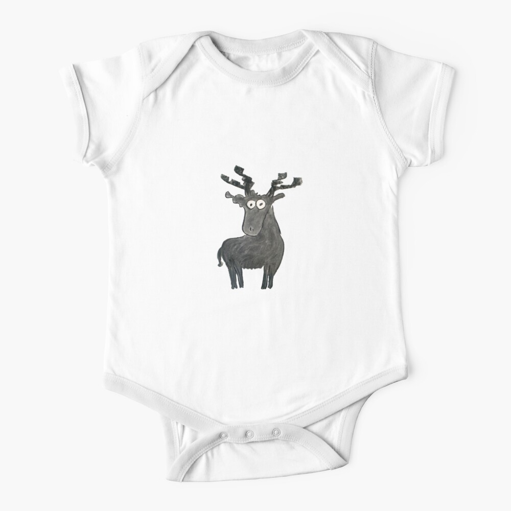 Moose Baby One-Piece