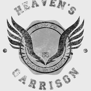 heaven's garrison (dark print) by mostly10