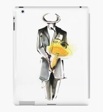 Saxophonist Musician Drawing iPad Case/Skin