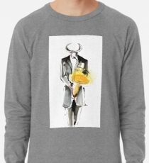 Saxophonist Musician Drawing Lightweight Sweatshirt