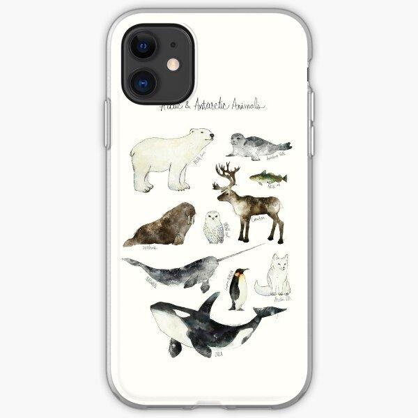 Arctic & Antarctic Animals iPhone Soft Case