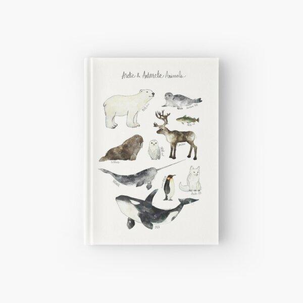 Arctic & Antarctic Animals Hardcover Journal